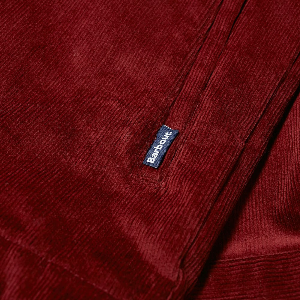 Barbour Cord Overshirt - Ruby