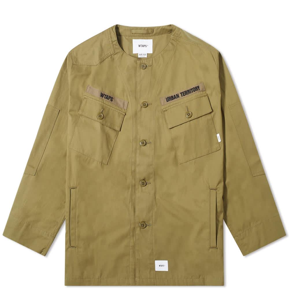 WTAPS Collarless Scout Shirt