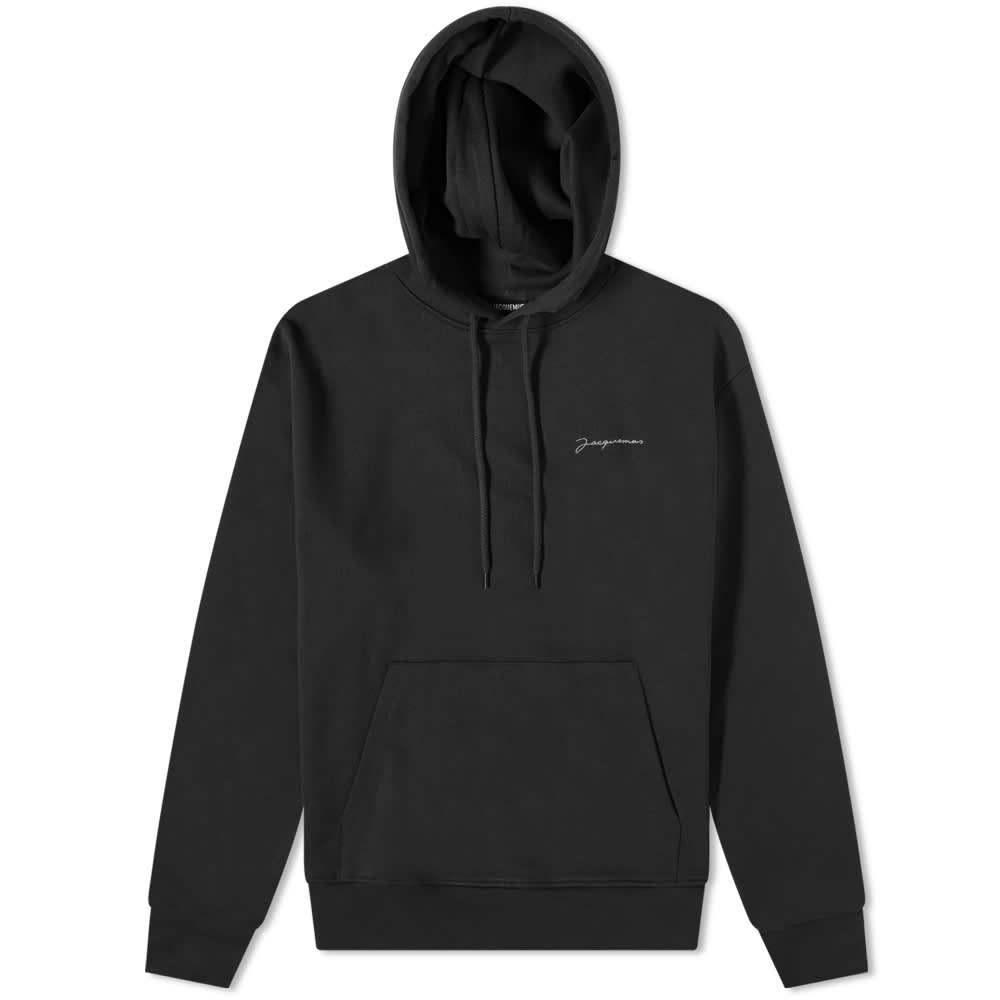 Jacquemus Logo Popover Hoody - Black