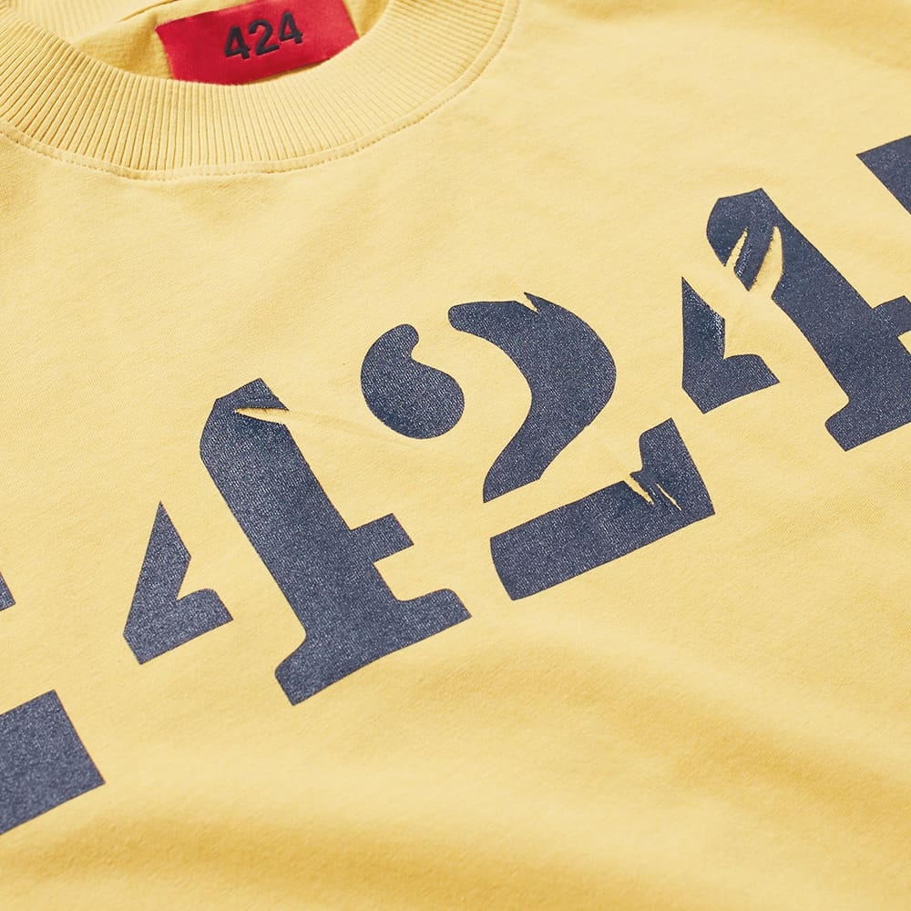 424 Barricade Tee - Yellow
