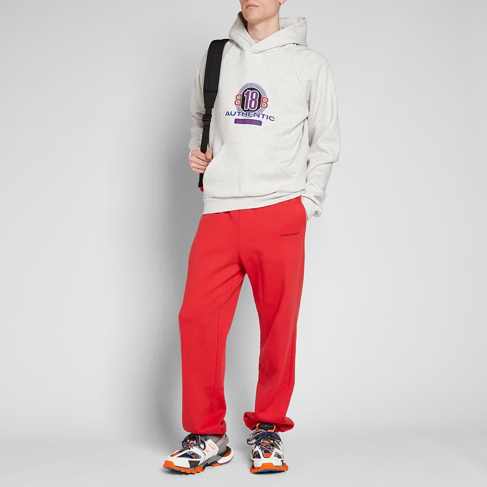 Independientemente A fondo informal  Balenciaga Copyright Logo Sweat Pant Tomato Red | END.