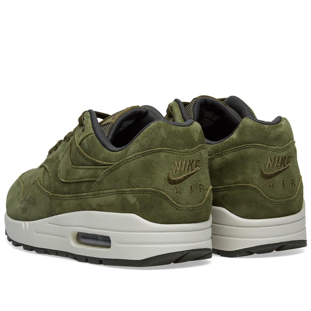 Nike Air Max 1 Premium Olive, Sequoia