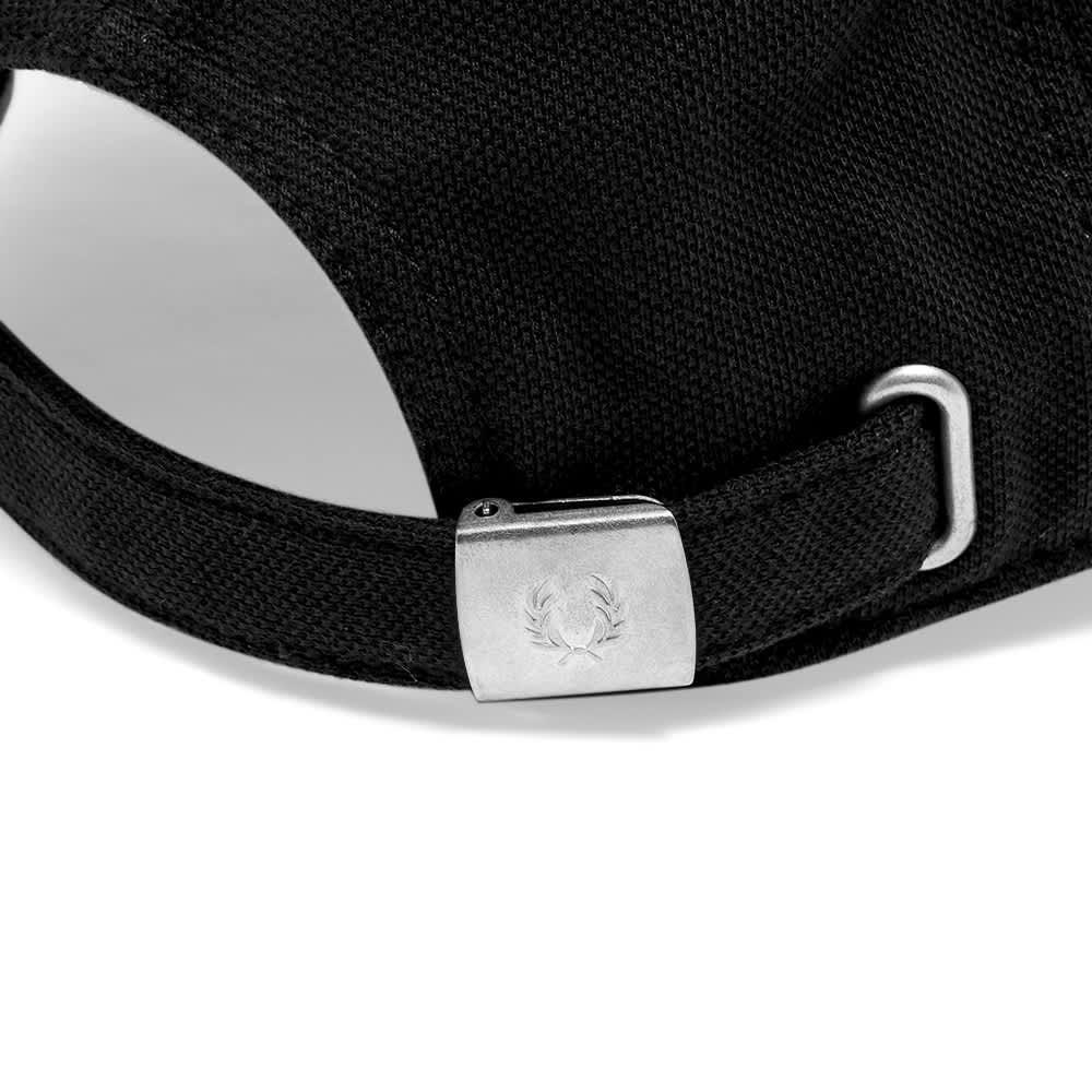 Fred Perry Pique Classic Cap - Black