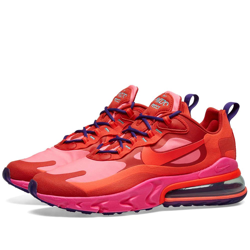 Nike Air Max 270 React W Red, Crimson