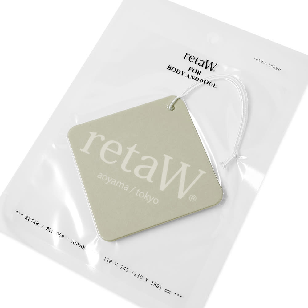 retaW Fragrance Car Tag - Natural Mystic*