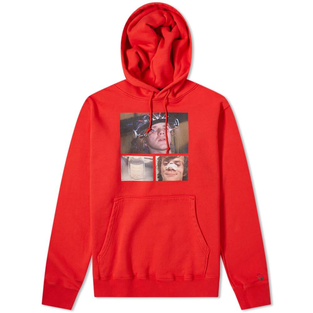 Undercover x A Clockwork Orange Alex Print Popover Hoody - Red