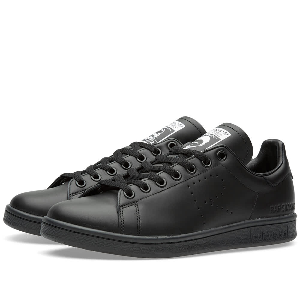 Adidas x Raf Simons Stan Smith Black   END.