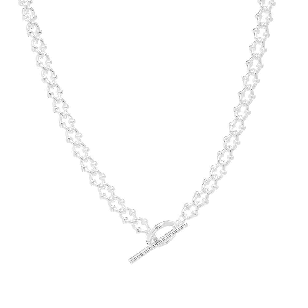 All Blues DNA Necklace - Sterling Silver