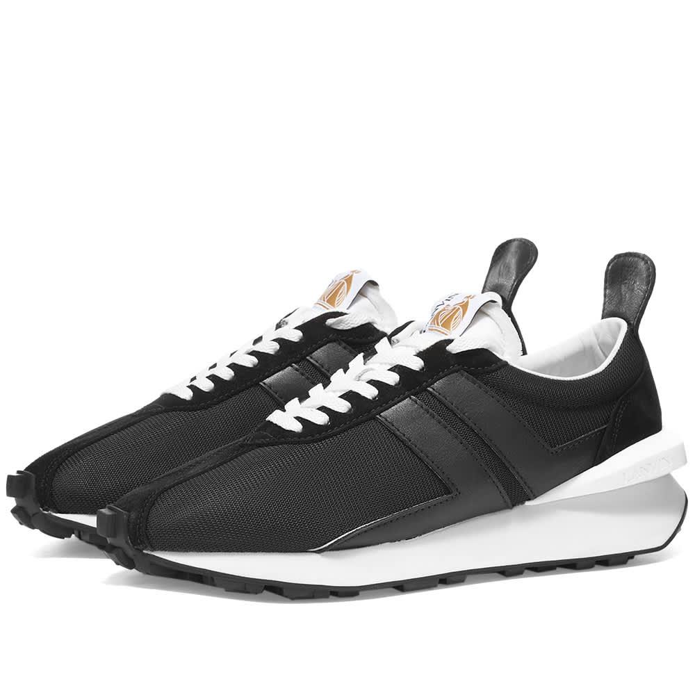 Lanvin Vintage Running Sneaker - Black