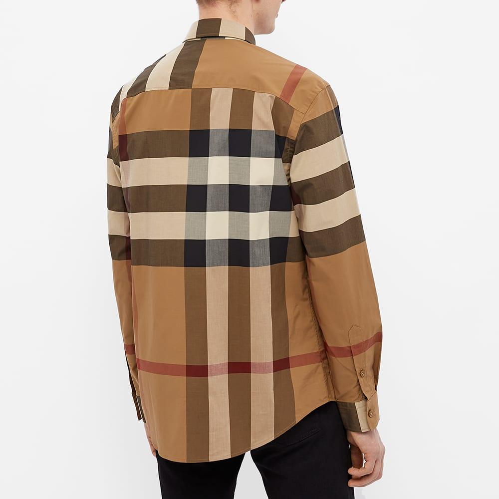 Burberry Chadbury Oversize Check Shirt - Birch Brown Check