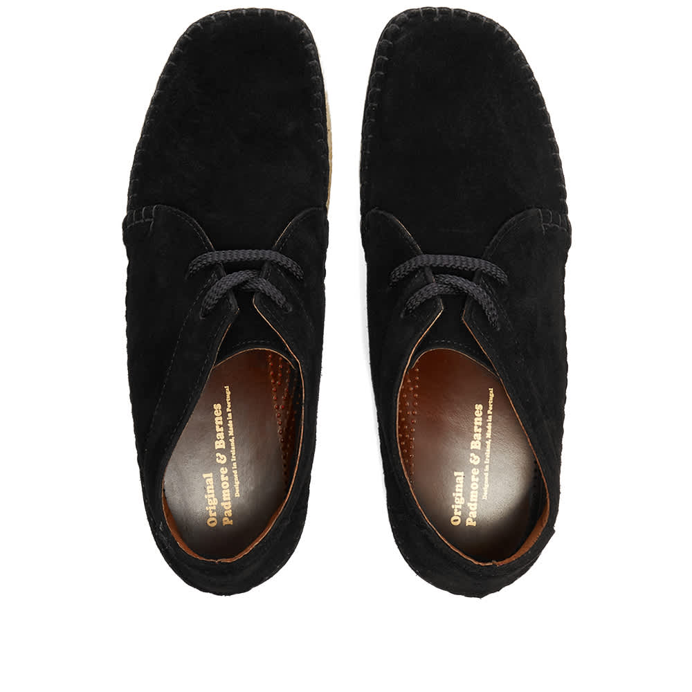 Padmore & Barnes P700 Willow Boot - Black Suede