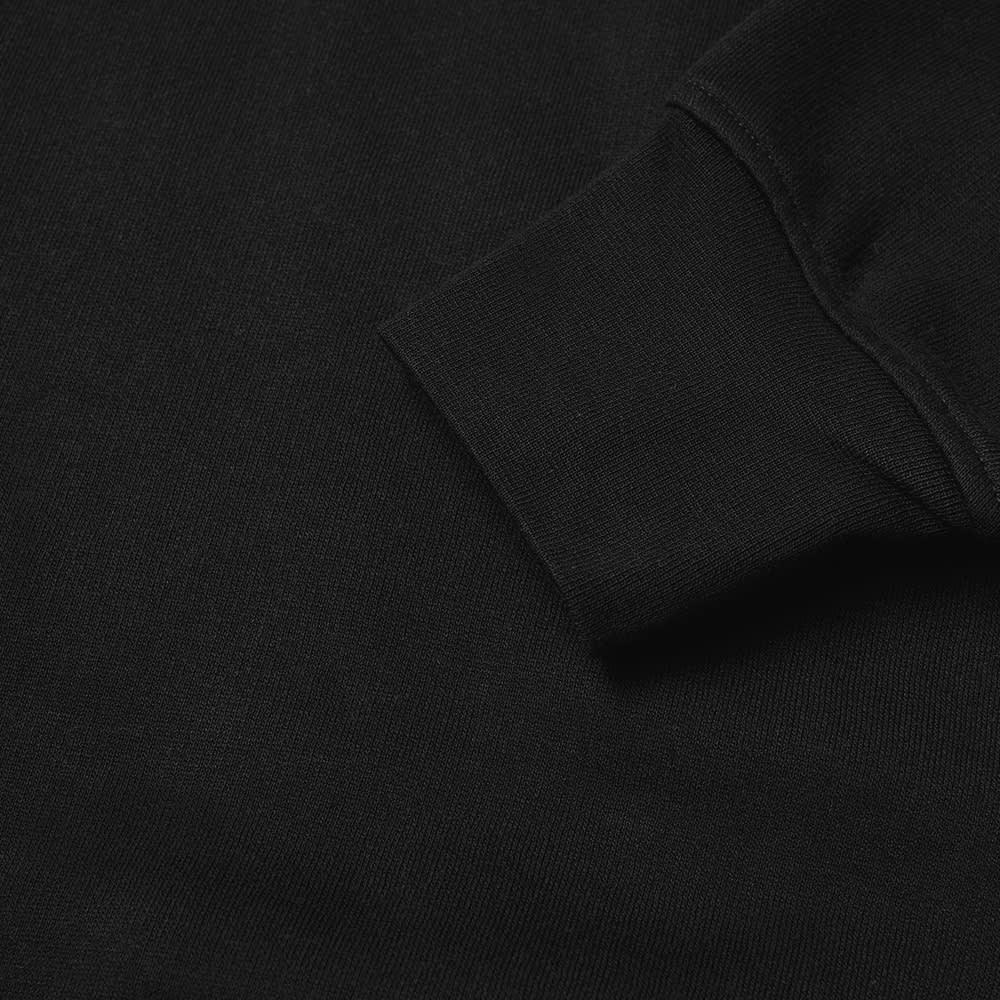 Acne Studios Fulton Logo Rib Crew Sweat - Black