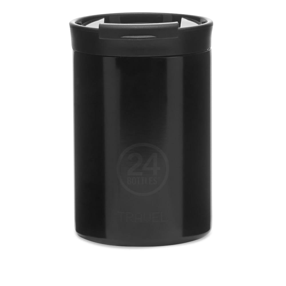 24 Bottles Travel Tumbler Insulated 350ml - Black