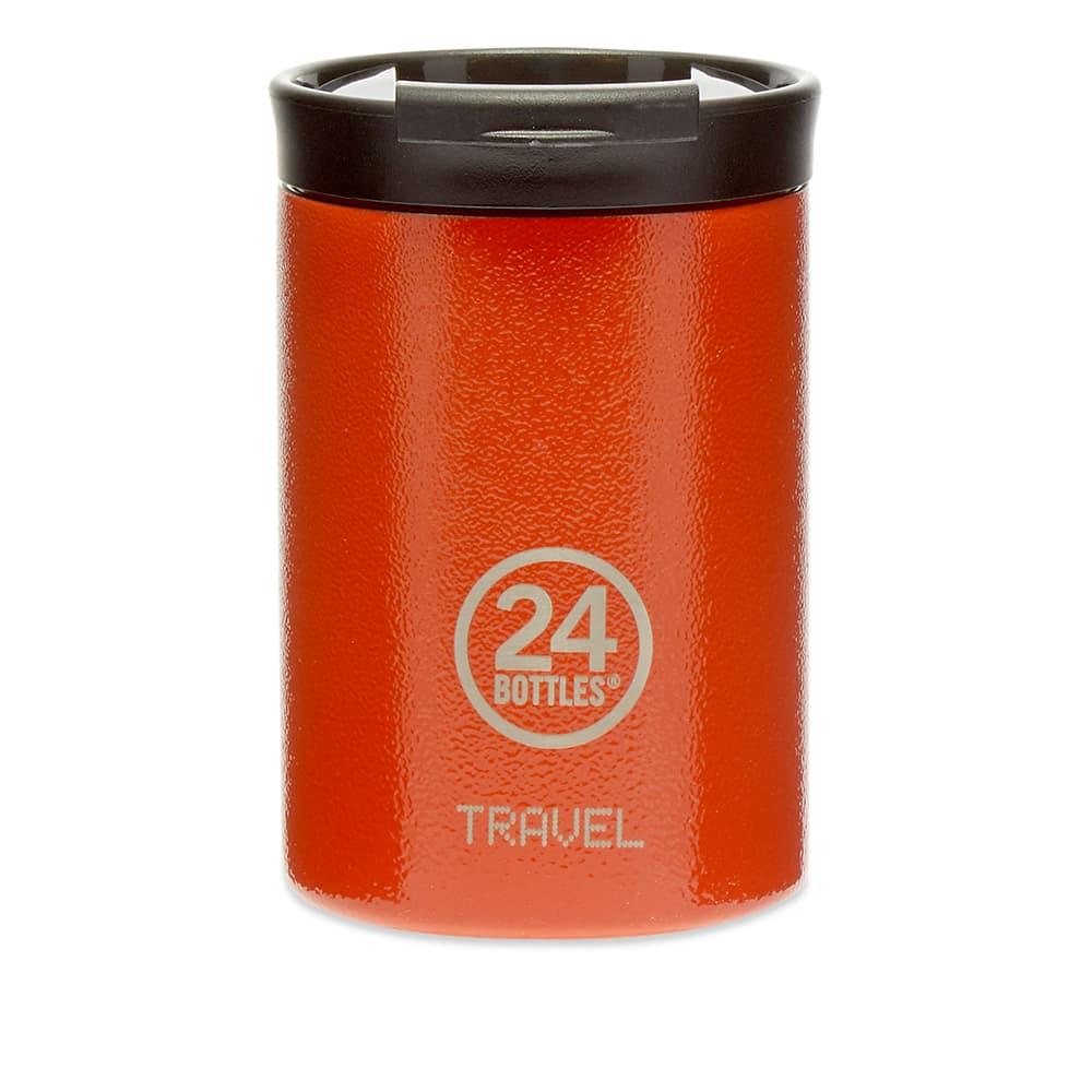 24 Bottles Travel Tumbler Insulated 350ml - Orange