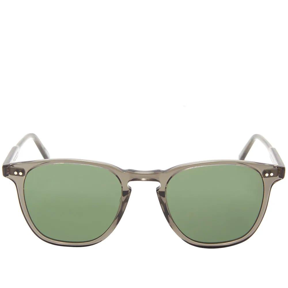 Garrett Leight Brooks Sunglasses - Grey Crystal & Pure G15