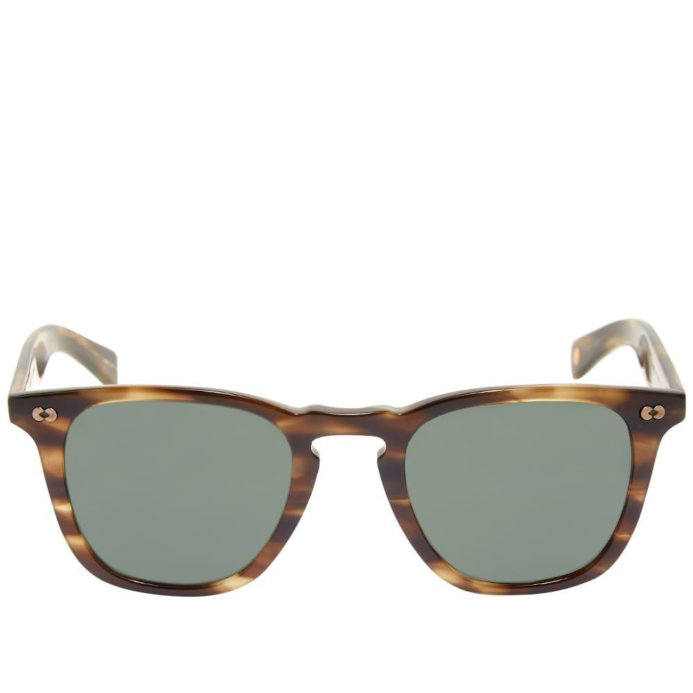 Garrett Leight Brooks X 48 10th Anniversary Limited Edition Sunglasses - Kodiak Tortoise & Pure G15