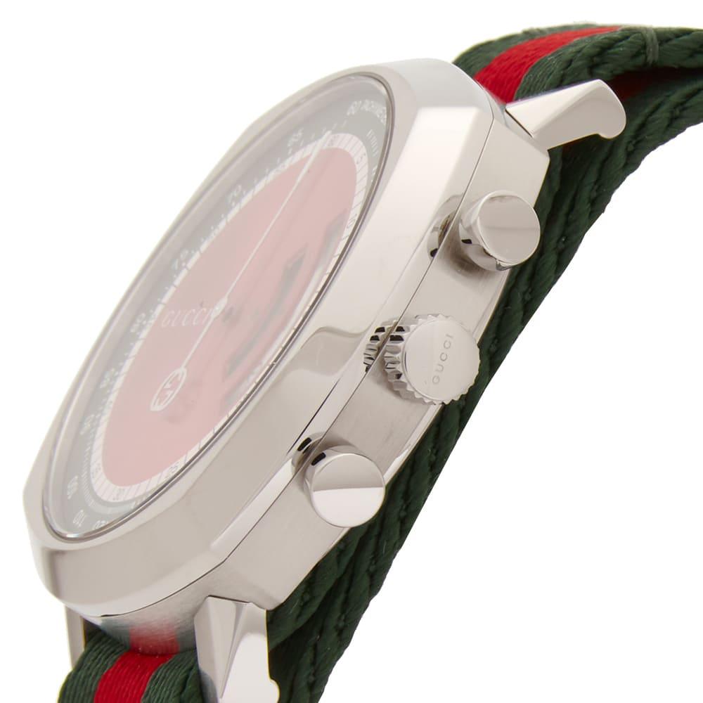 Gucci Grip Watch - Red & Green