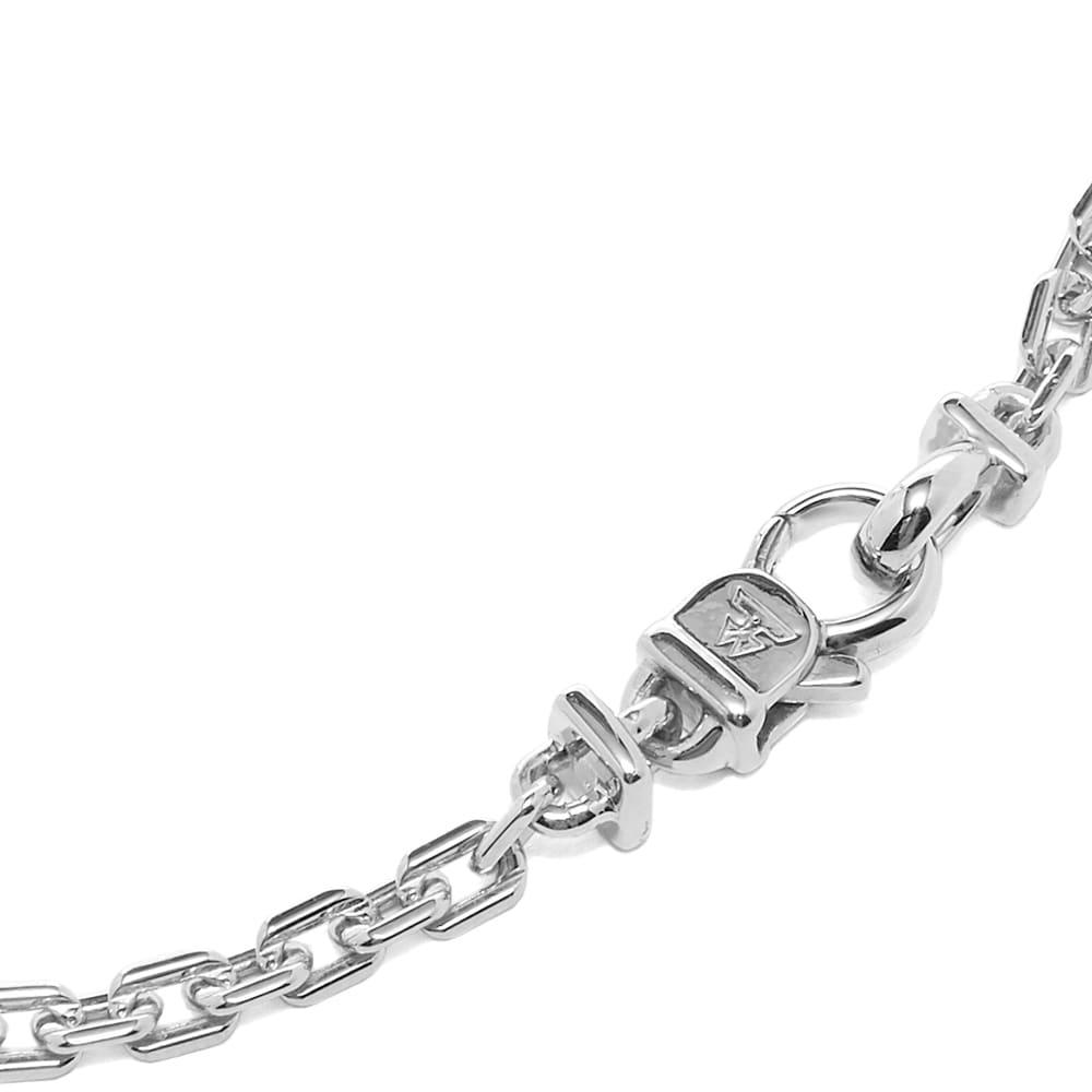 """Tom Wood 7.7"""" Anker Bracelet - 925 Sterling Silver"""