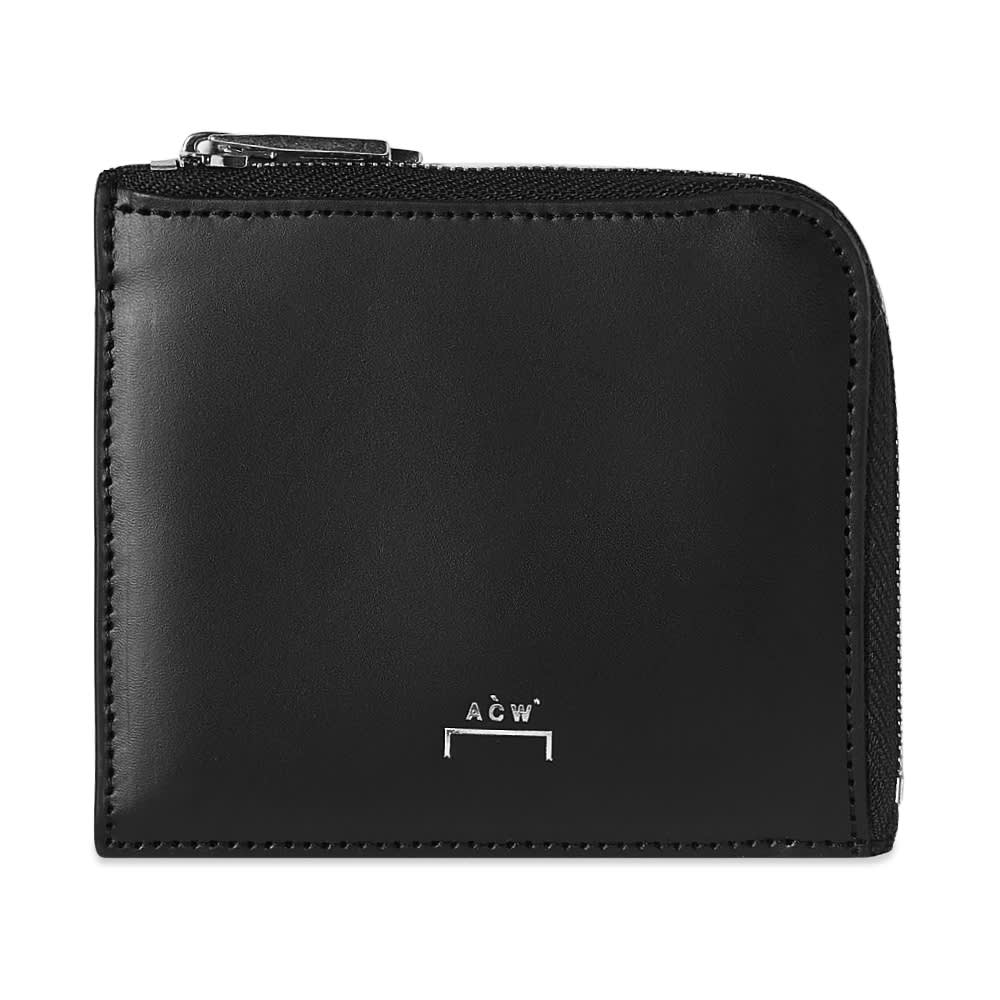 A-COLD-WALL* Leather Coin Purse - Black