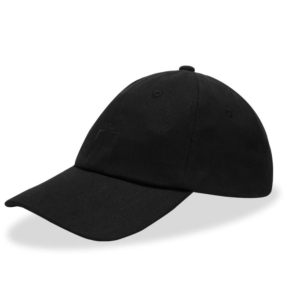 A-COLD-WALL* Bracket Logo Cap - Black
