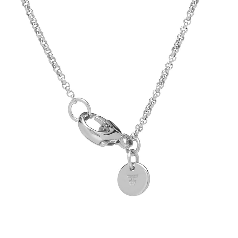 "Tom Wood 27"" Eros Cushion Pendant - 925 Sterling Silver"