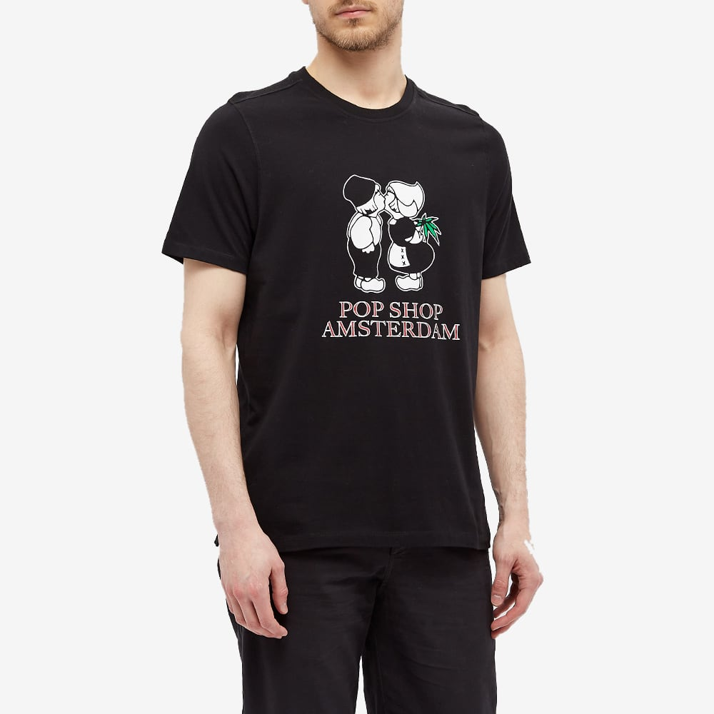 POP Trading Company Amsterdam Tee - Black