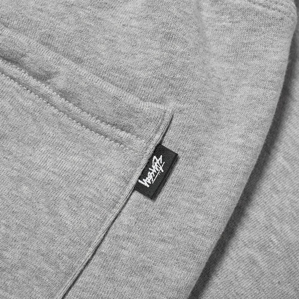 Stussy Stock Logo Pant - Grey Heather