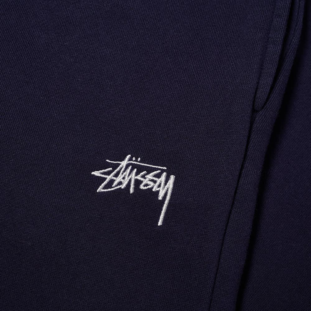 Stussy Stock Logo Pant - Navy