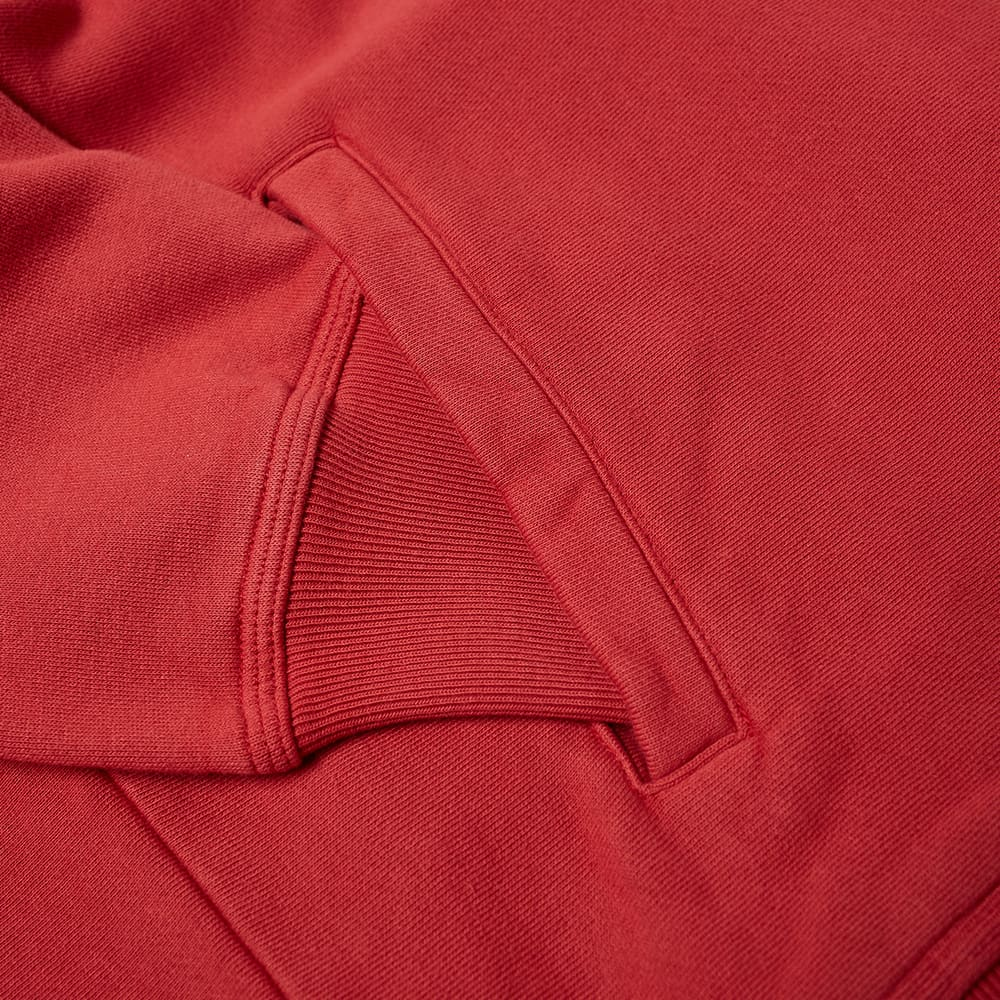 Stussy Stock Logo Mock Neck Sweat - Red