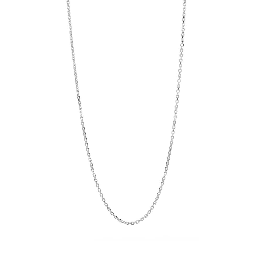 "Tom Wood 20.5"" Slim Anker Chain - 925 Sterling Silver"