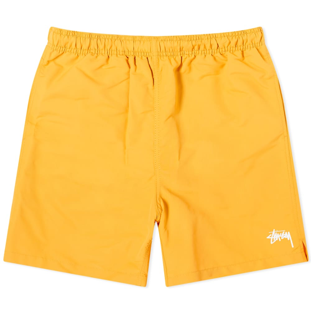 Stussy Stock Water Short - Yellow