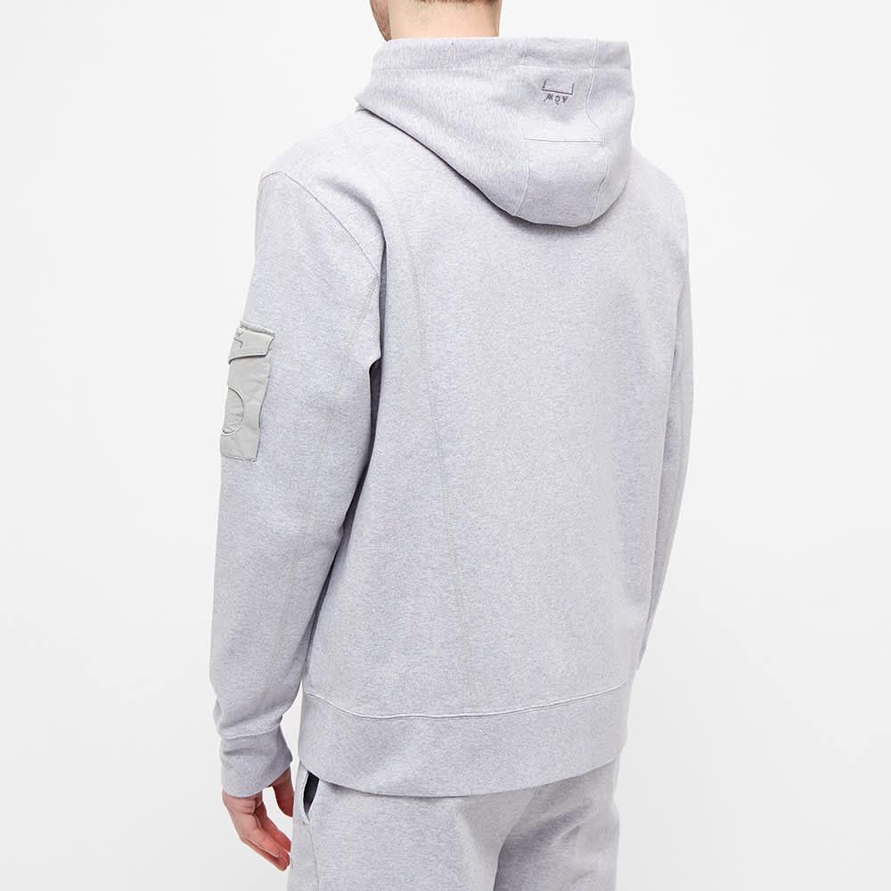 A-COLD-WALL* Essential Logo Zip Hoody - Grey Melange
