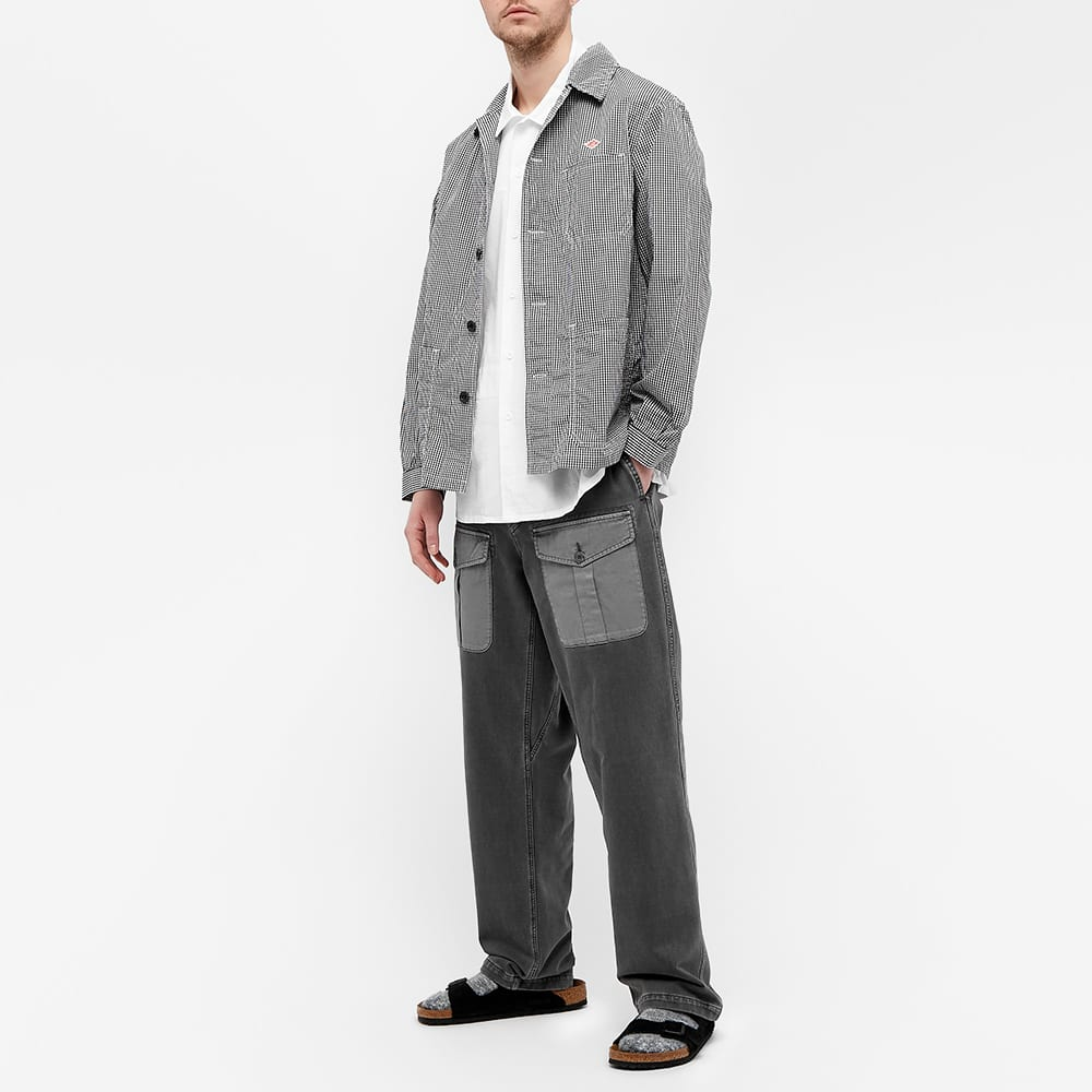 Danton Poplin Shirt Jacket - Black Gingham