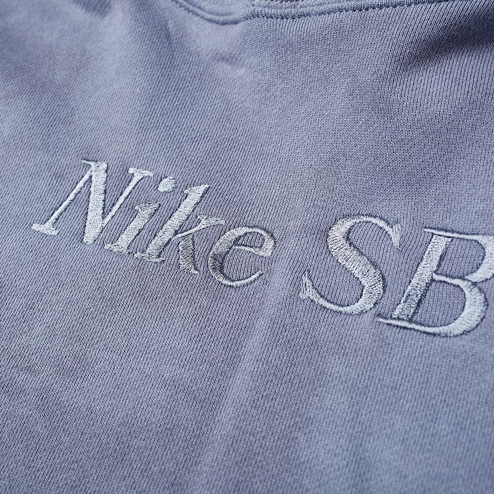 Nike SB Washed Popover Hoody - Ashen Slate