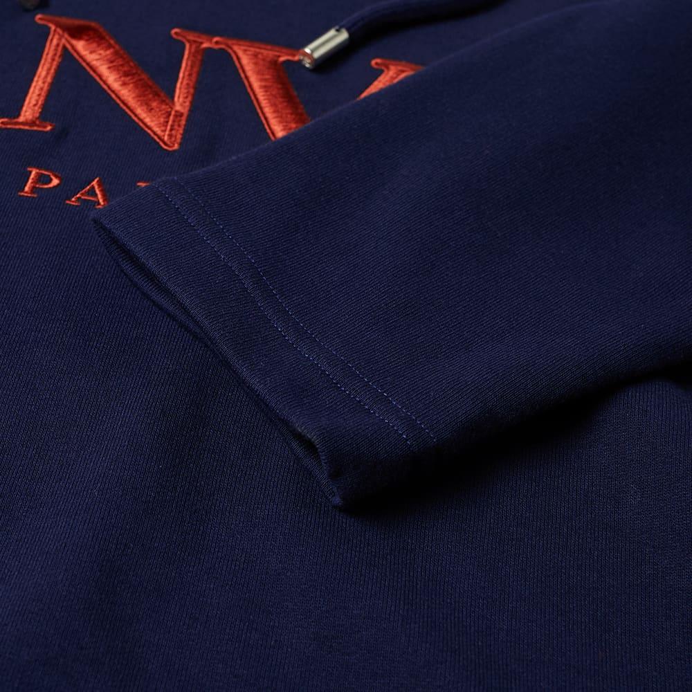 Lanvin Logo Popover Hoody - Navy Blue