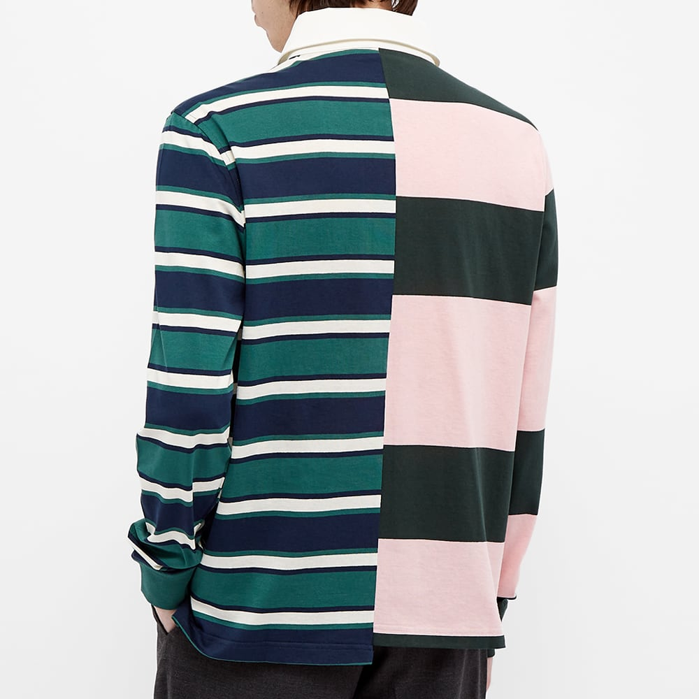 Lanvin Patchwork Rugby Shirt - Multi