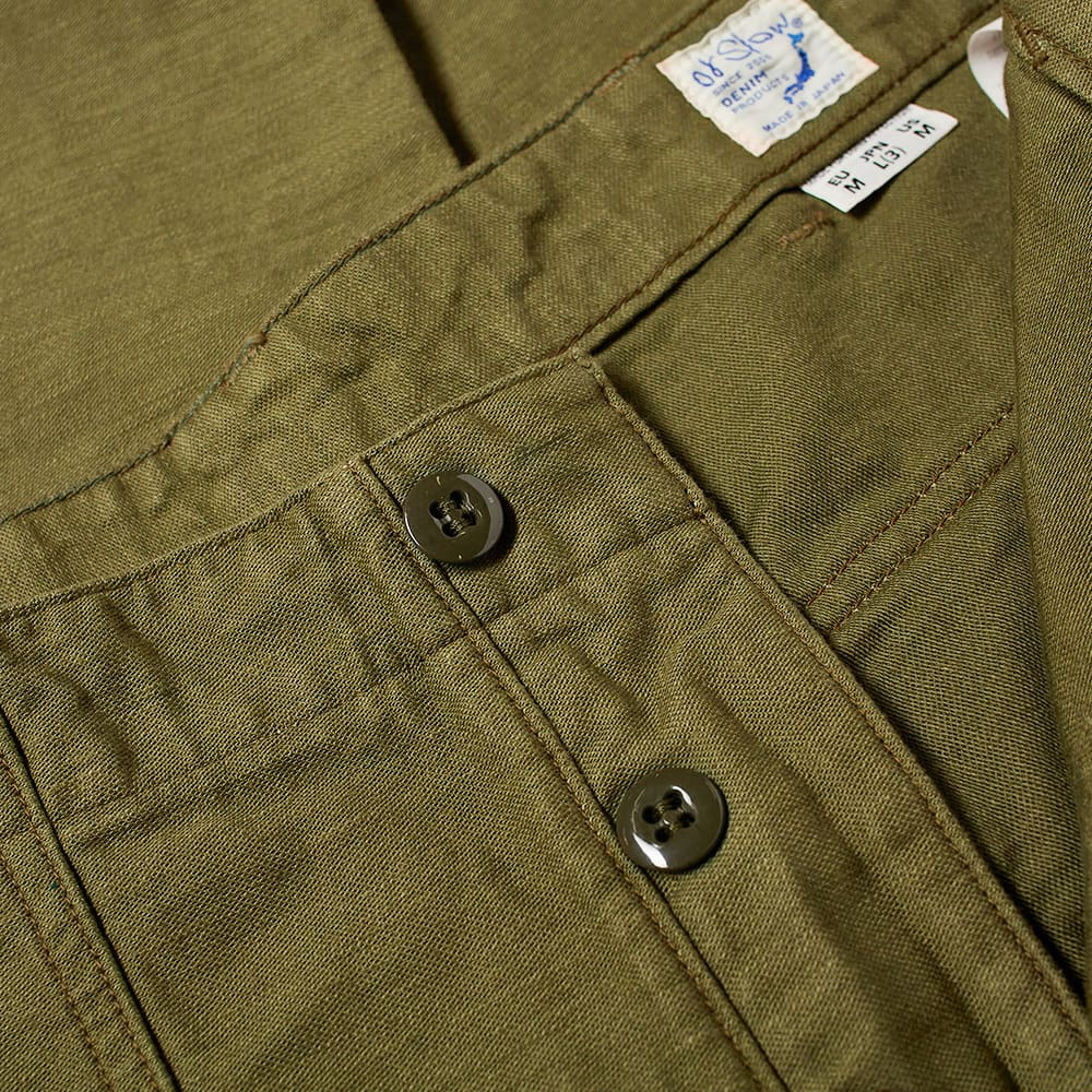 orSlow US Army Fatigue Pant - Green