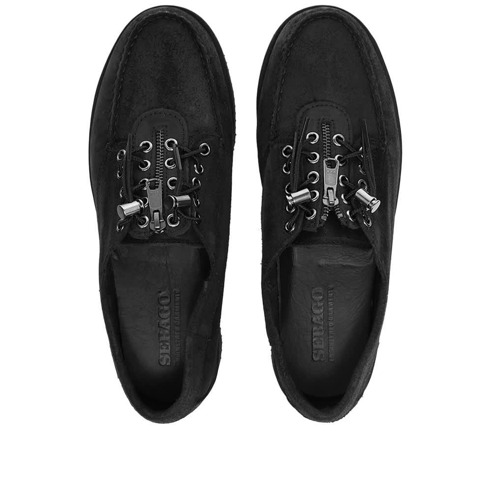 Sebago x Engineered Garments Zipper Deck - Black