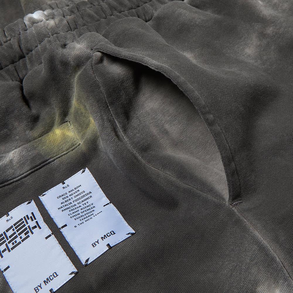 McQ Tie Dye Sweatpant - Black & Grey Mix