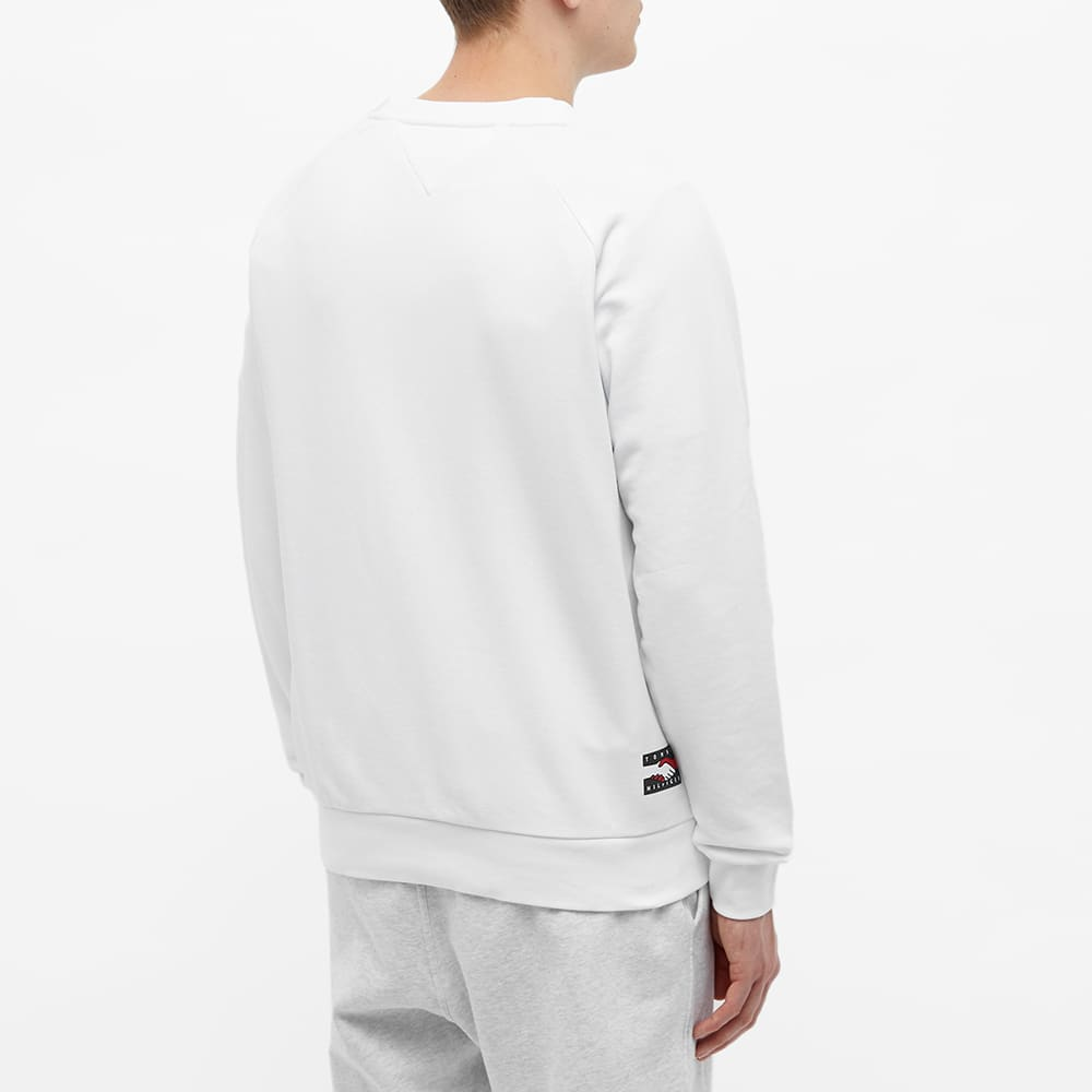 Tommy Jeans Earth Day Crew Sweat - Optic White