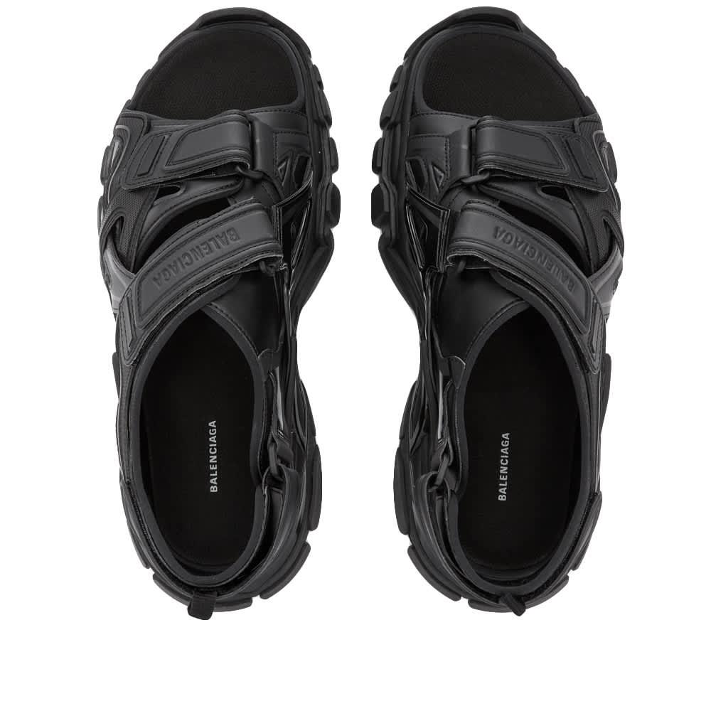 Balenciaga Track Sandal - Black