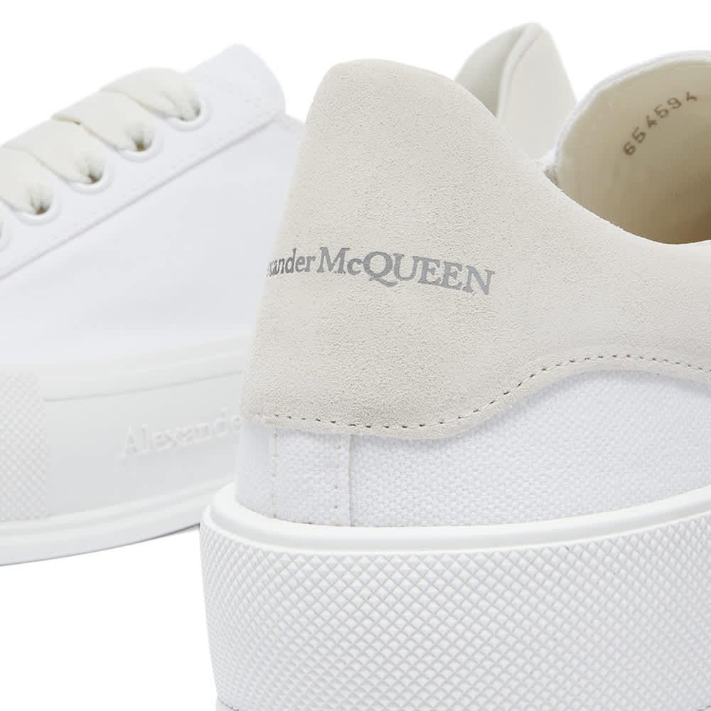 Alexander McQueen Chunky Foxing Plimsoll Sneaker - White