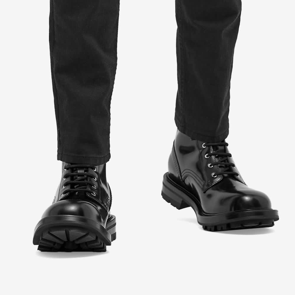 Alexander McQueen Military Boot - Black