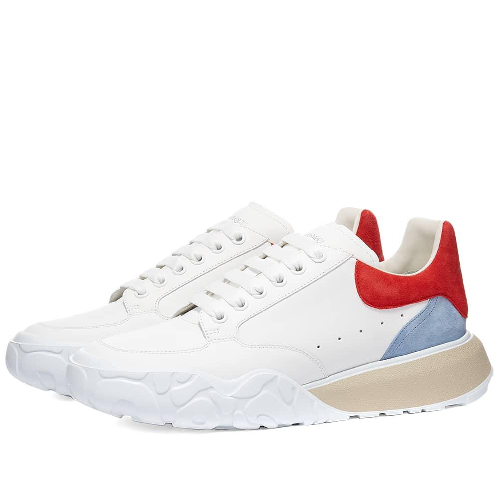 Alexander McQueen Court Trainer - White & Red