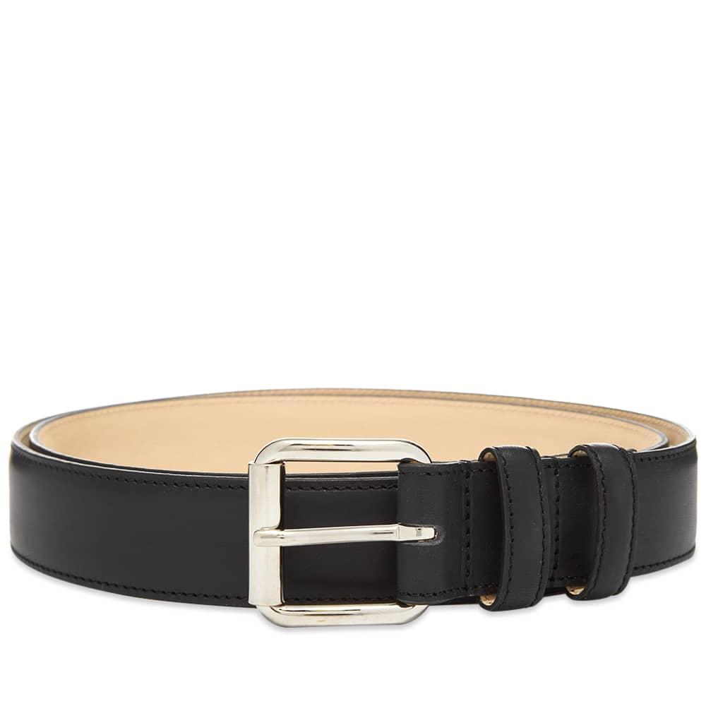 A.P.C. Classic Paris Belt - Black