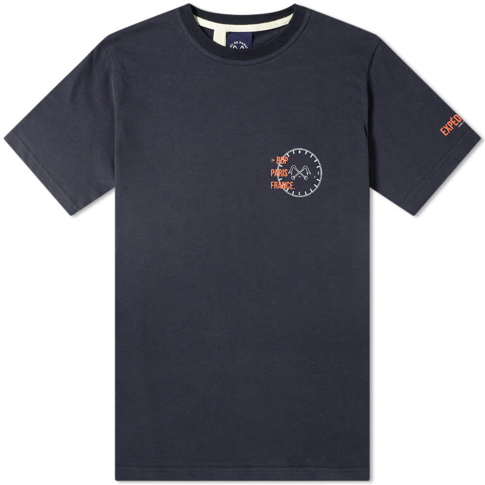 Bleu de Paname Expedition Tee - Navy