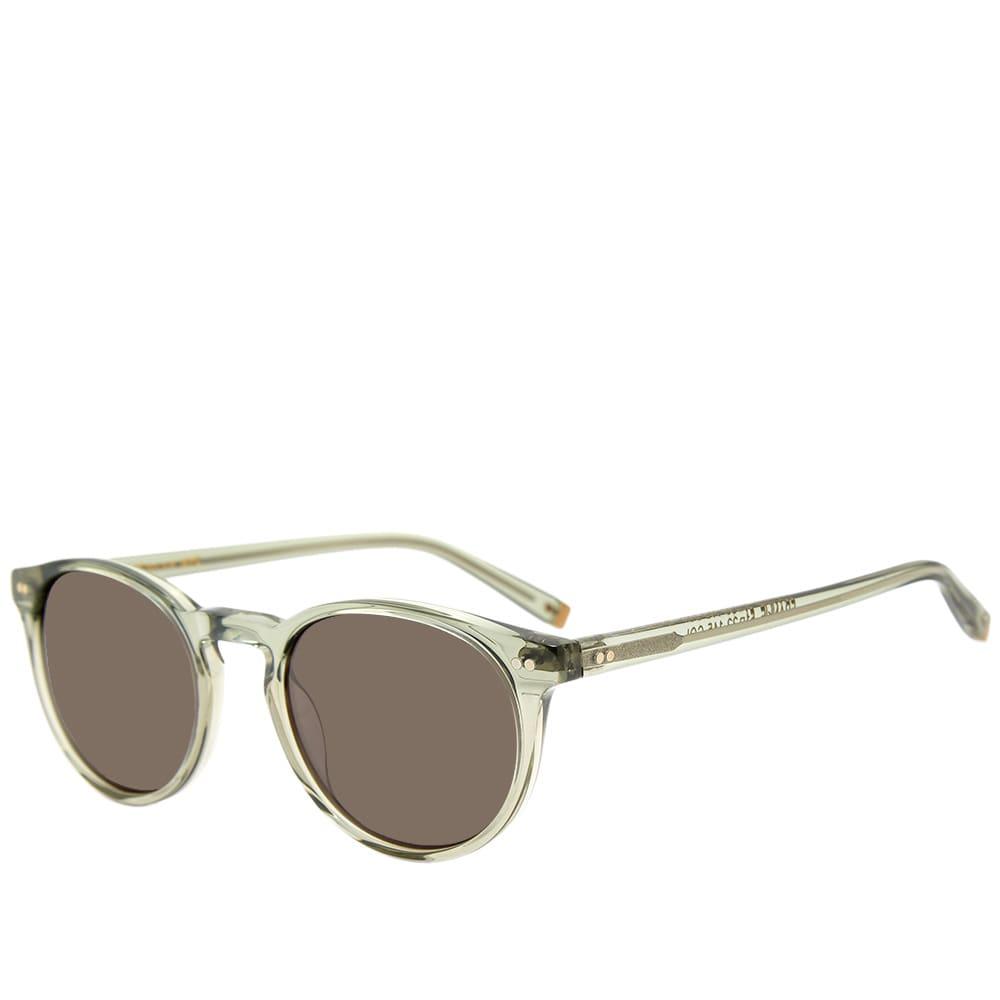 Moscot Frankie Sunglasses - Sage & CR-39 Grey