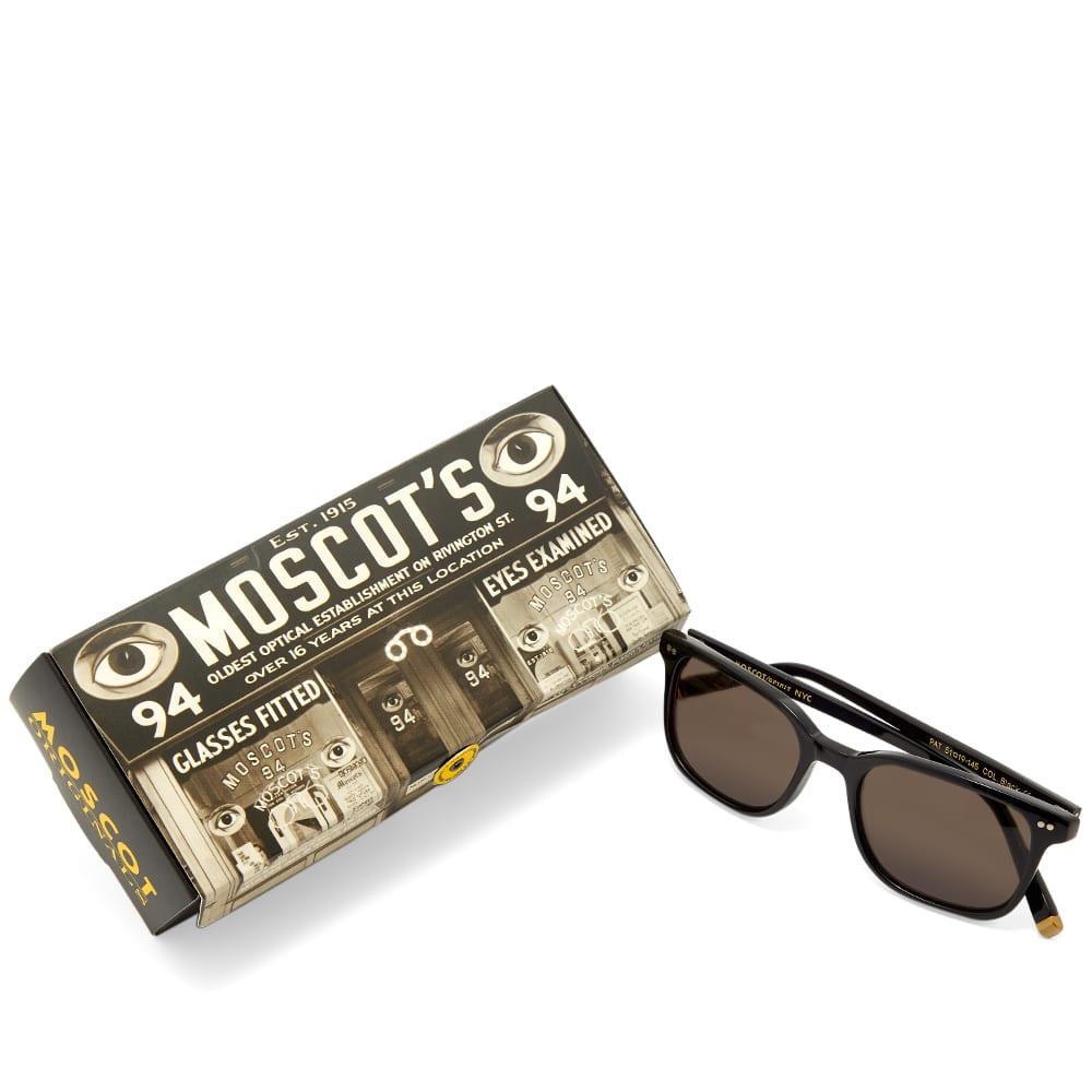 Moscot Pat Sunglasses - Black & CR-39 Grey