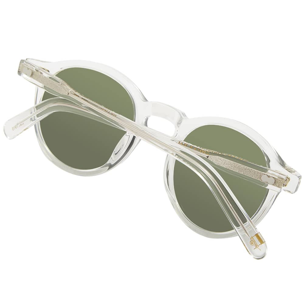 Moscot Miltzen Sunglasses - Crystal & G-15