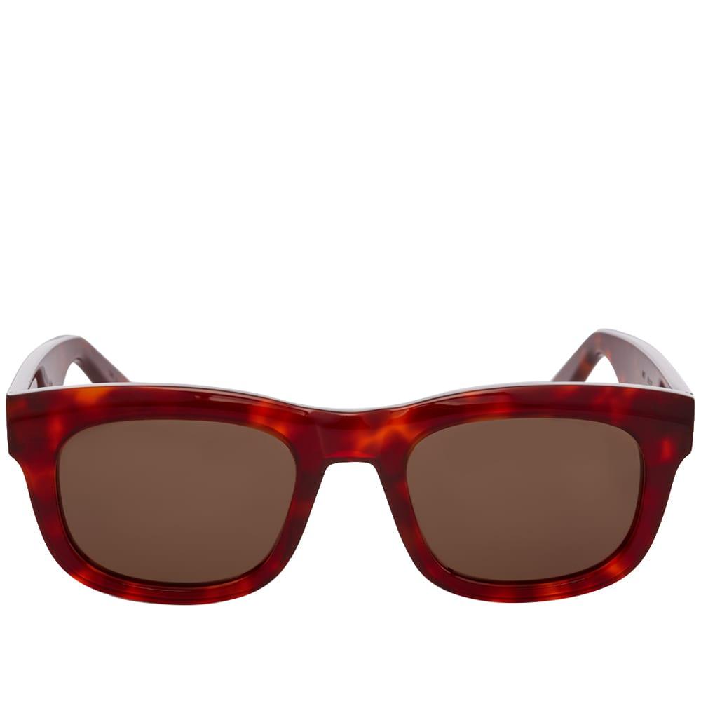 Han National Sunglasses - Amber & Tortoise